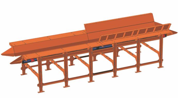Ленточный конвейер пересып фольксваген транспортер под заказ