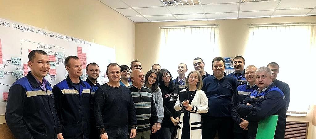 "Запуск проекта ""Бережливое производство на ООО Сибэлектро"""