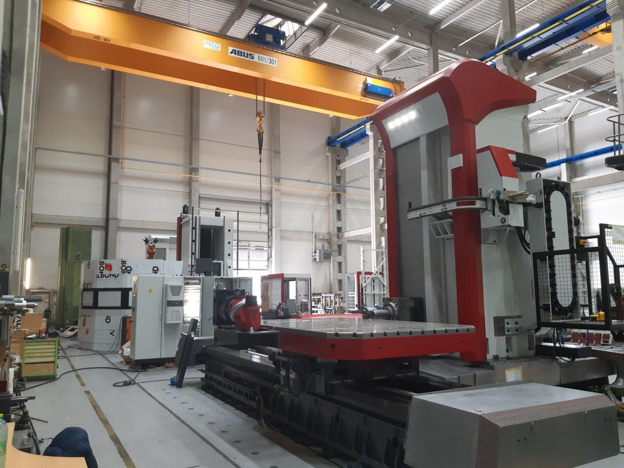 Приёмка горизонтально-расточного станка Fermat WFT 15R CNC и навесного оборудования к нему, изготовленного для ООО «Сибэлектро»
